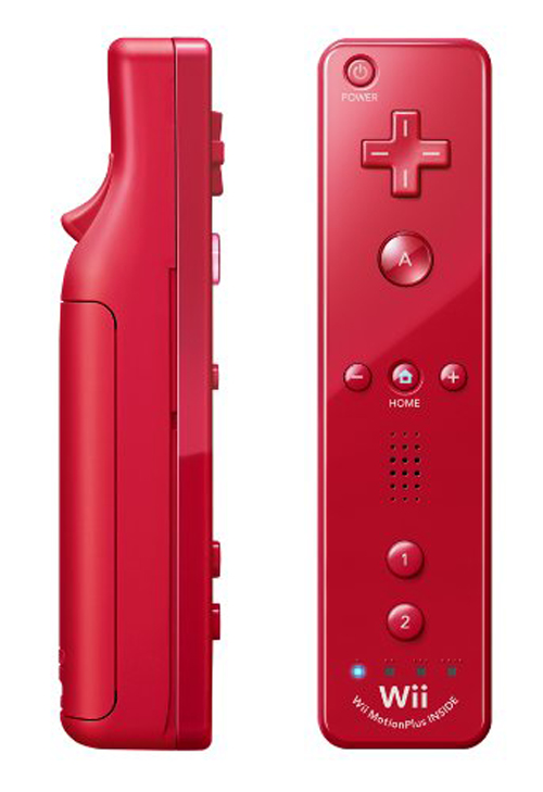 Nintendo Wii Remote Plus Red