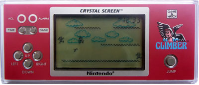 Game & Watch Crystal Screen Series: Climber