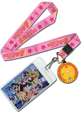 Sailor Moon - Moon Brooch Lanyard (2)