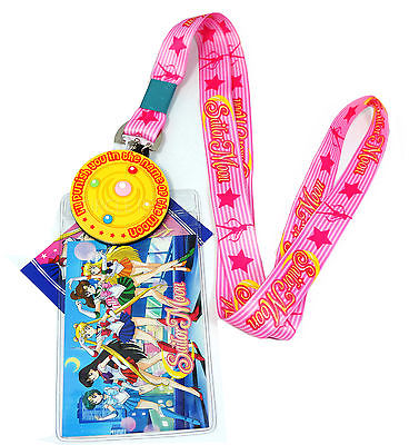 Sailor Moon - Moon Brooch Lanyard