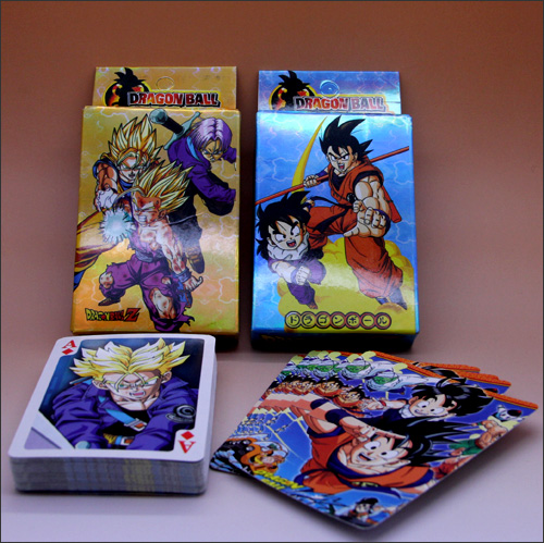 Dragon Ball Z Collectible Playing Cards