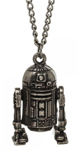 Star Wars 3D Molded R2-D2 Necklace