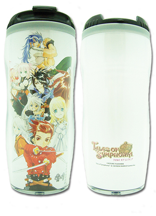 Tales of Symphonia: Keyart Travel Mug