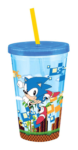 Sonic the Hedgehog Green Zone 18oz Carnival Cup