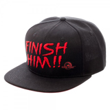 Mortal Kombat Finish Him!! Snapback