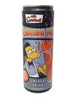 Simpsons Flaming Moe Energy Drink