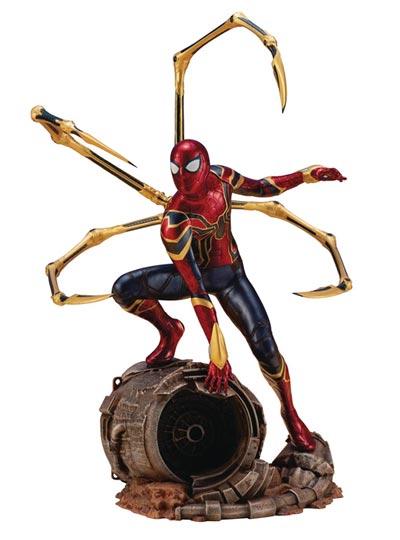 Infinity War Iron Spider ArtFX+ Statue