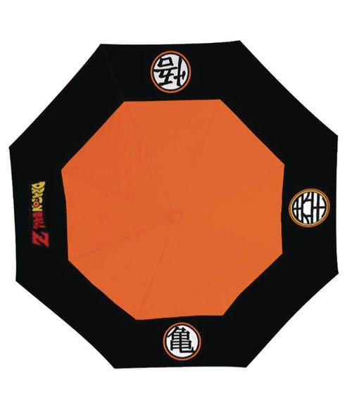 Dragon Ball Z Symbols Umbrella