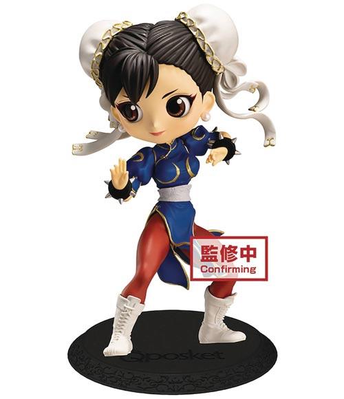 Street Fighter: Chun-Li Q-Posket Figure Blue Version