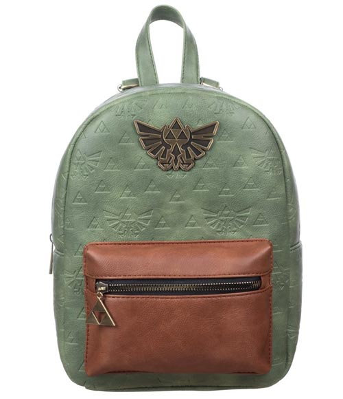 Legend of Zelda Hylian Crest Embossed Mini Backpack