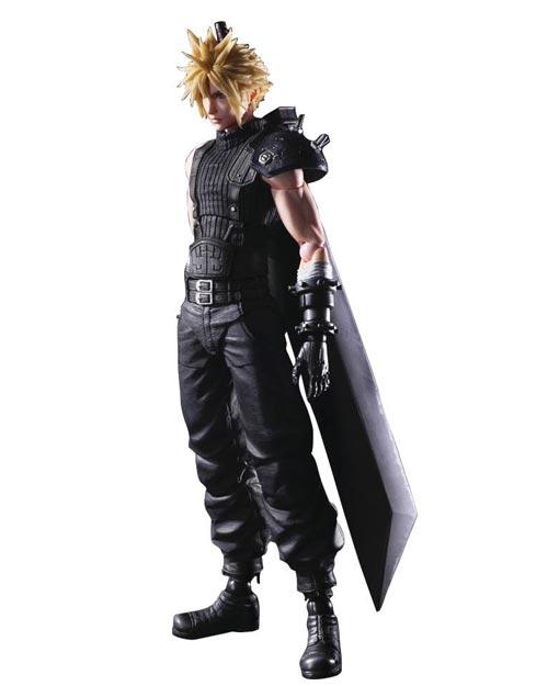 Final Fantasy VII Remake: Play Arts Kai Cloud Strife Action Figure