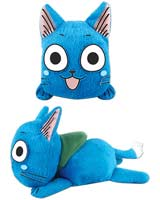 Fairy Tail Happy 5 Inch Laying Down Plush