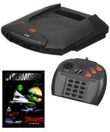 Atari Jaguar System with Cybermorph