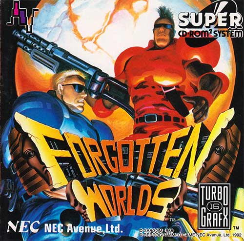 Forgotten Worlds Super CD-ROM2