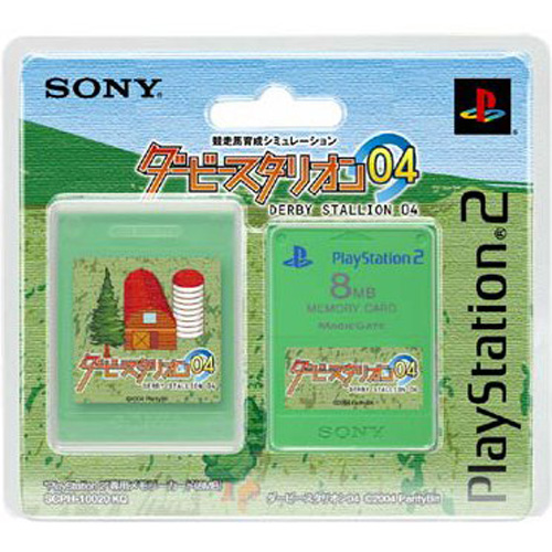 PS2 Memory Card Derby Stallion 04 by Sony