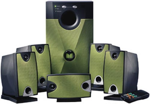 Xbox 5.1 Speaker System by Monster Cable