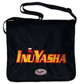 Courier^3 Inu Yasha Logo Black Courier Bag