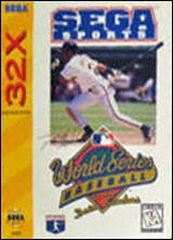 World Series Baseball starring Dan Sanders / 32X