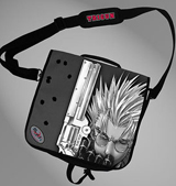 Trigun Vash Silk Screen Messenger Bag