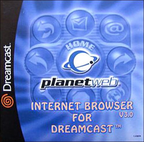 Dreamcast Planetweb Internet Browser Version 3.0