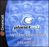 Dreamcast Planetweb Internet Browser Version 3.0