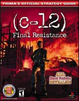 C-12 Final Resistance Official Strategy Guide Book