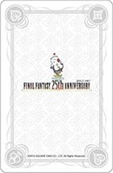 Final Fantasy 25th Anniversary Playing Cards