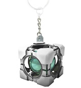 Portal 2 Refracting Box Molded Vinyl Keychain