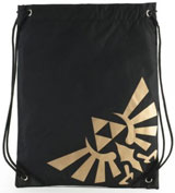 Legend of Zelda Logo Cinch Bag