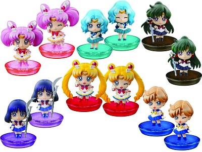 Sailor Moon: Pretty Soldier Petit Chara Land Set 2