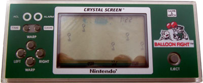 Game & Watch Crystal Screen Series: Balloon Fight