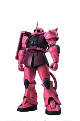 Gundam Robot Spirits MSG Side MS-065 Zaku II Char's Custom Version