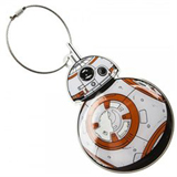 Star Wars 7 BB-8 Aluminum Bag Tag