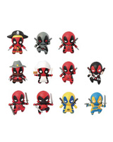 Deadpool Laser Cut Figure Keyrings
