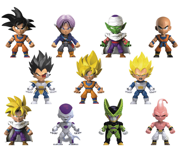 Dragon Ball Z Action Vinyl Series 1 Mini Figures