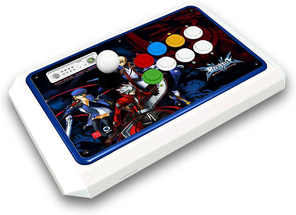 Xbox 360 BlazBlue Continuum Shift Fightstick Tournament Edition White