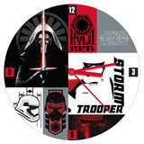 Star Wars the Force Awakens Wall Clock