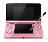 Nintendo 3DS System Misty Pink Japanese Version