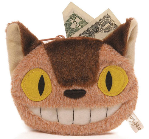 My Neighbor Totoro Cat Bus Coin Purse