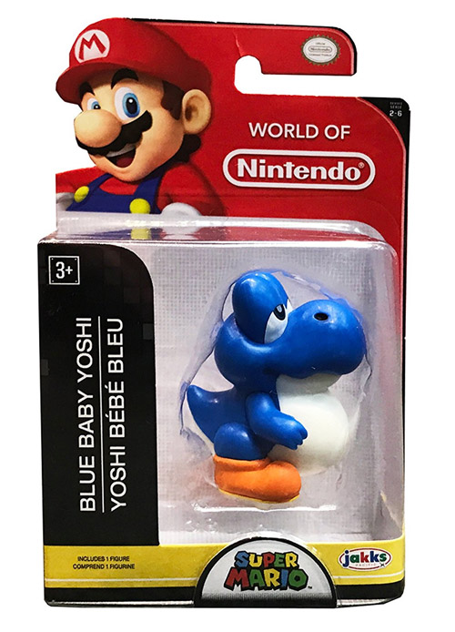 Nintendo 2.5 Inch Figure Baby Blue Yoshi