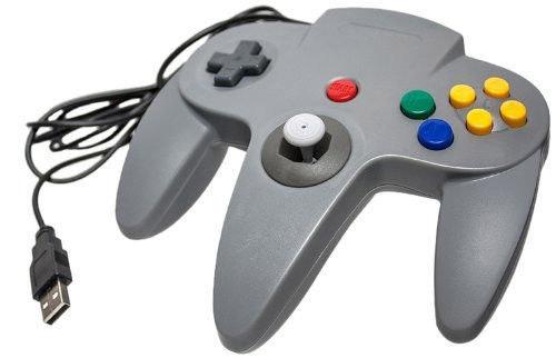 PC/Mac N64 CirKa USB Controller Gray