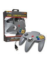 PC/Mac N64 CirKa USB Controller Gray