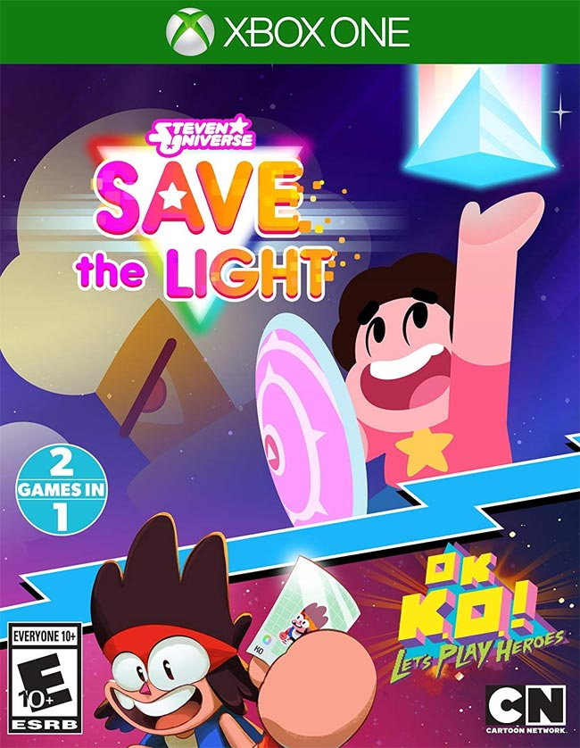 Stven Universe Save the Light & Ok K.O. Let's Play Heroes