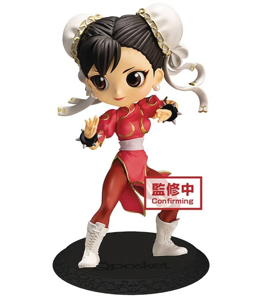 Street Fighter: Chun-Li Q-Posket Figure Red Version