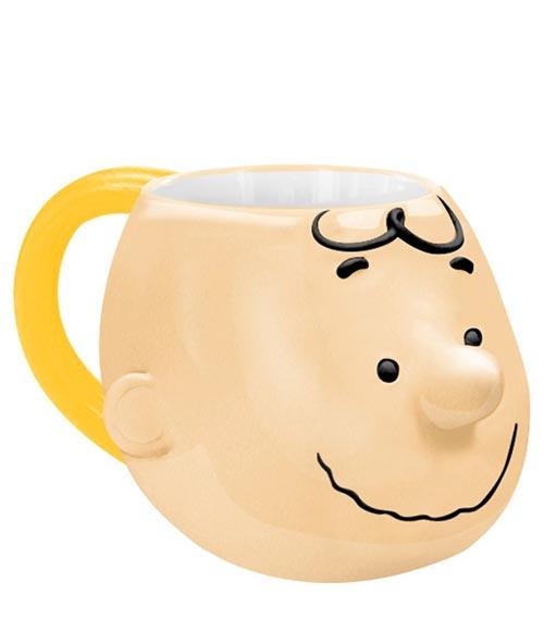Peanuts Charlie Brown 20 oz. Sculpted Ceramic Mug