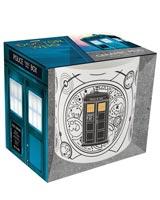 Doctor Who TARDIS Black & White 20 oz Ceramic Mug