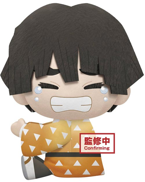 Demon Slayer Zenitsu Agatsuma Black Hair 12 Inch Super Big Plush