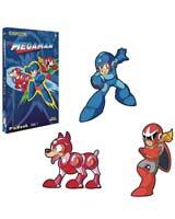 Mega Man Pin Book Set