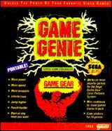 Game Gear Game Genie w/Code Book