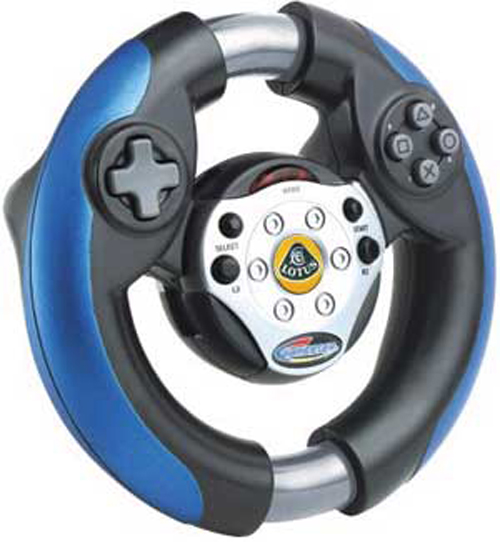 PS2 Lotus Steering Wheel